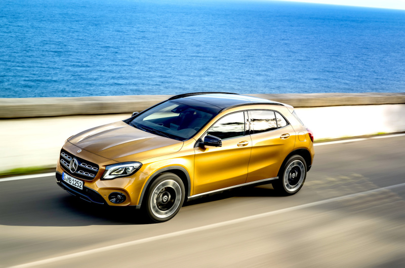 NEW – Mercedes-Benz GLA