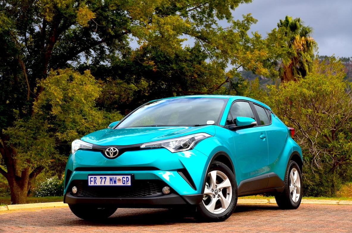 Toyota C-HR 1.2 Plus. Image - Giordano Lupini