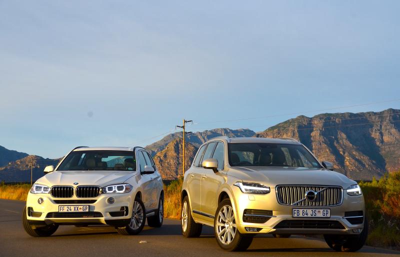 BMW X5 xDrive 2.5d& Volvo XC90 D4 FWD