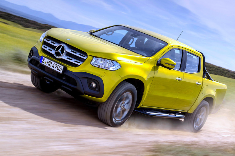 This is the  Mercedes-Benz X-Class