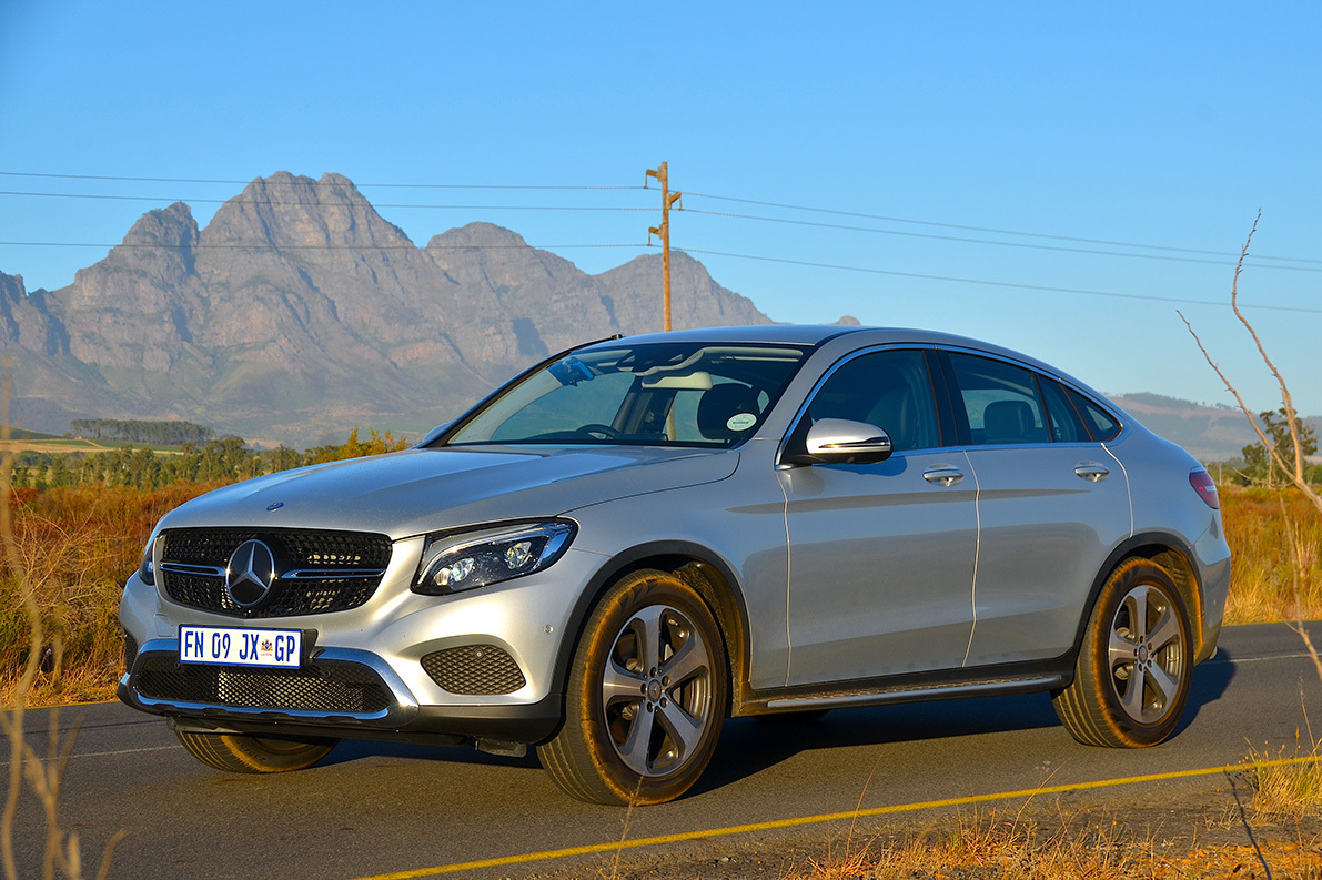 Mercedes-Benz GLC 250d coupe 4Matic AMG Line