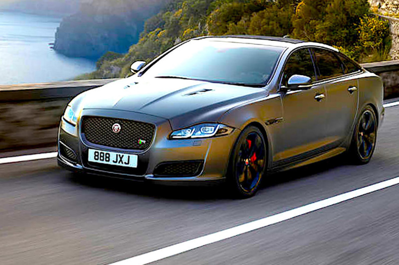 REVEALED - Jaguar XJR575