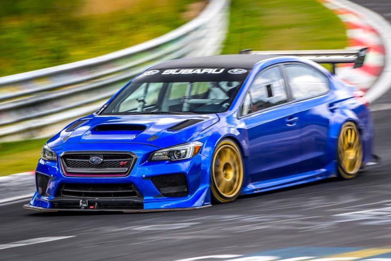 RECORD - Subaru's Nurburgring sedan mark