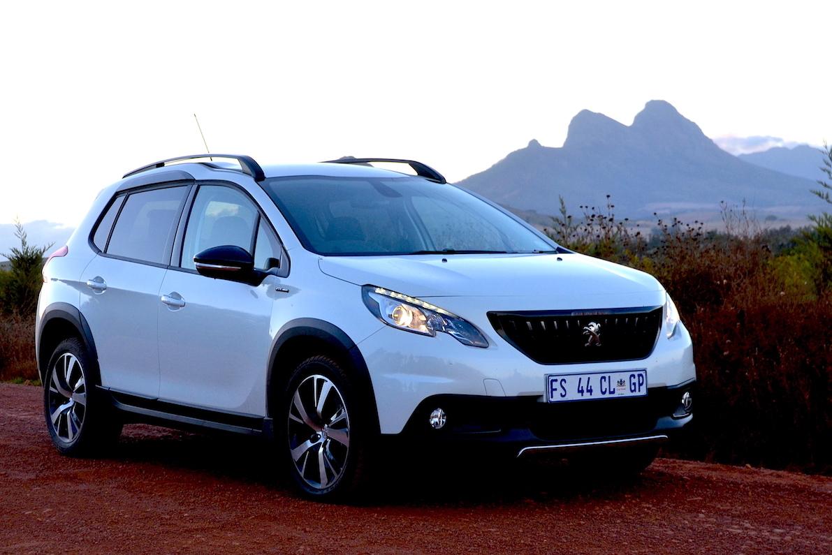 Peugeot 2008 1.6HDi Allure. Image: Giordano Lupini