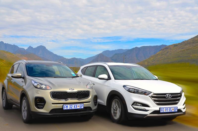 Kia Sportage 2.0 & Hyundai Tucson 2.0