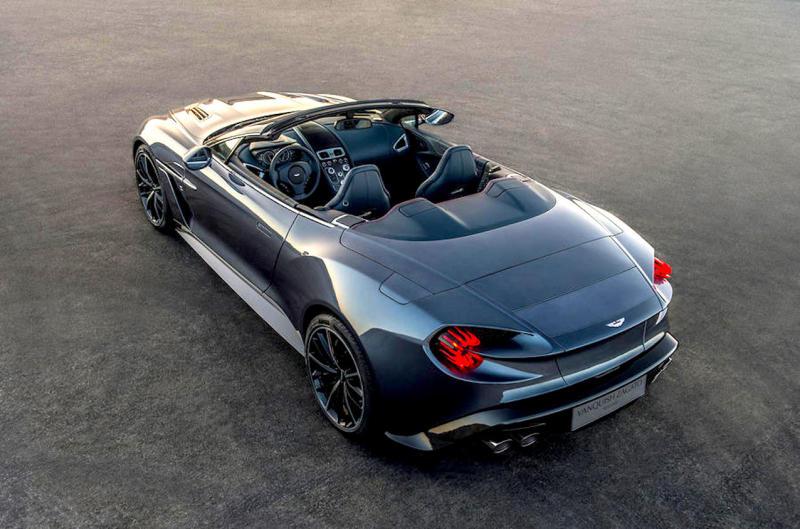 REVEALED - Aston MartinVanquish Zagatos