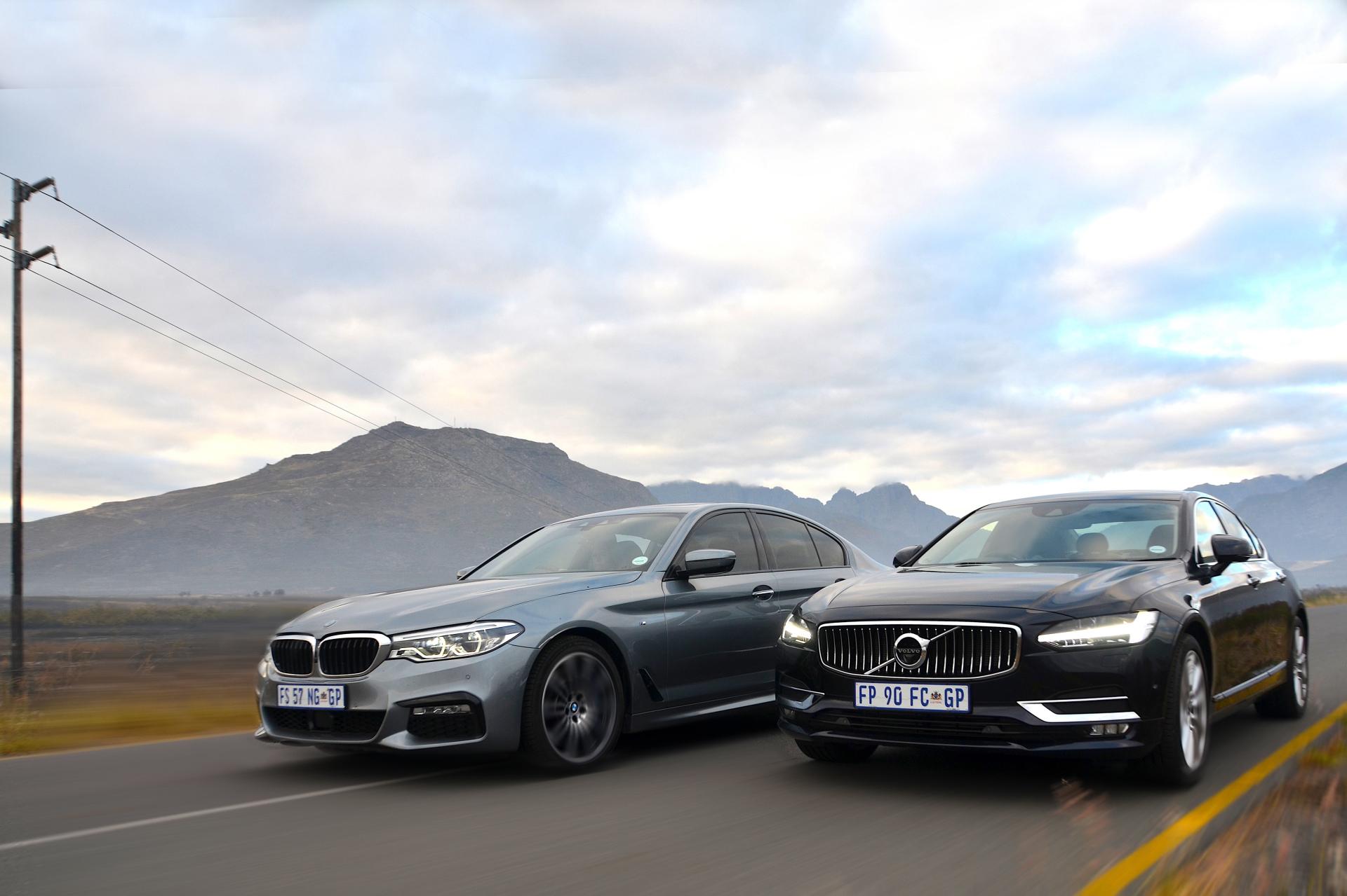 BMW 540i & Volvo S60 T4 AWD