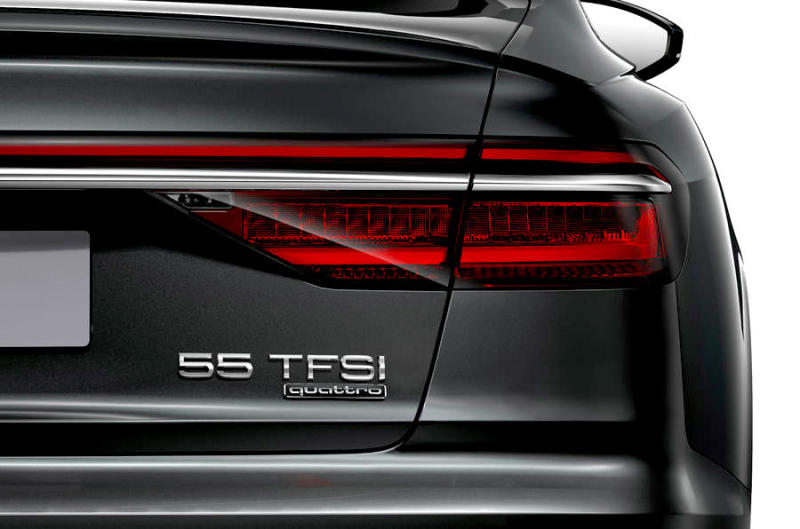Audi's new names will look like this