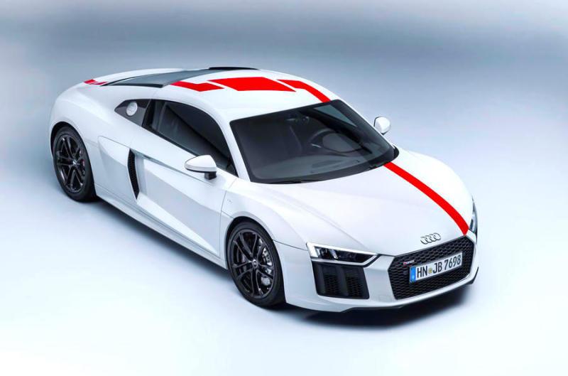 FRANKFURT - Audi R8 RWS