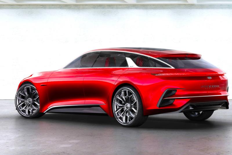 FRANKFURT - Kia Proceed Concept