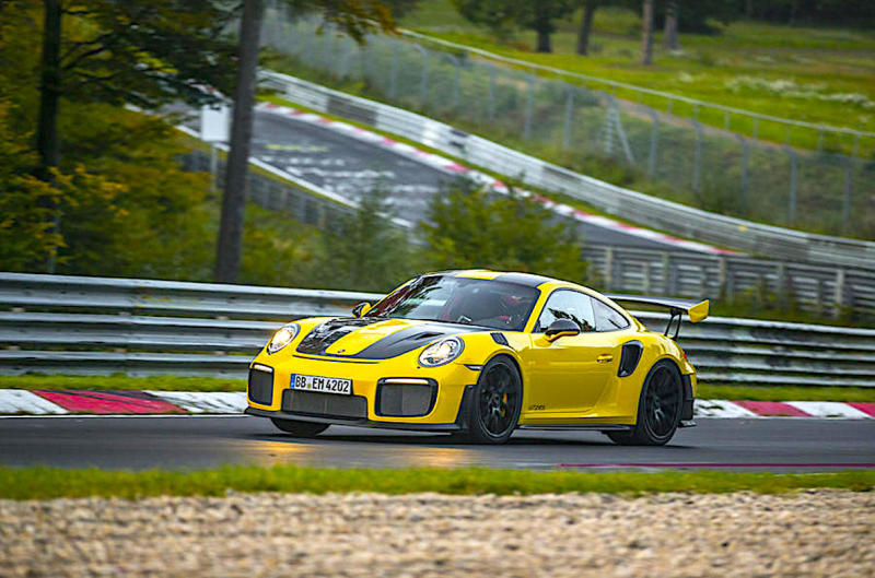 Porsche's record-setting 911 GT2 RS