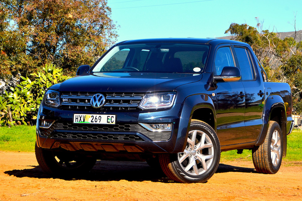 Volkswagen Amarok 3.0 V6 TD. Images - Giordano Lupini