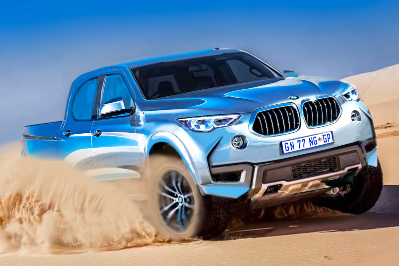 Would BMW's bakkie look like this?