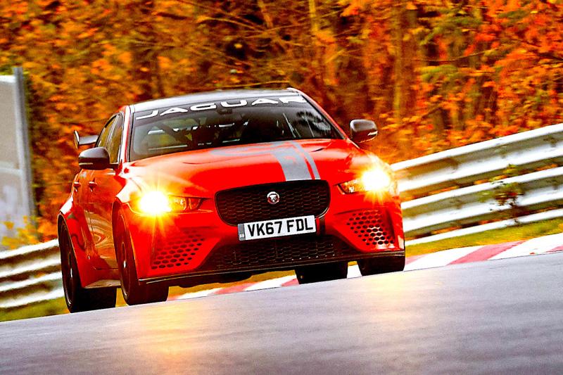 Jaguar XE breaks Ring record