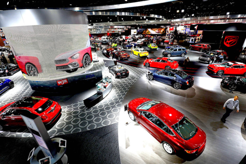 The Detroit Motor Show is under way