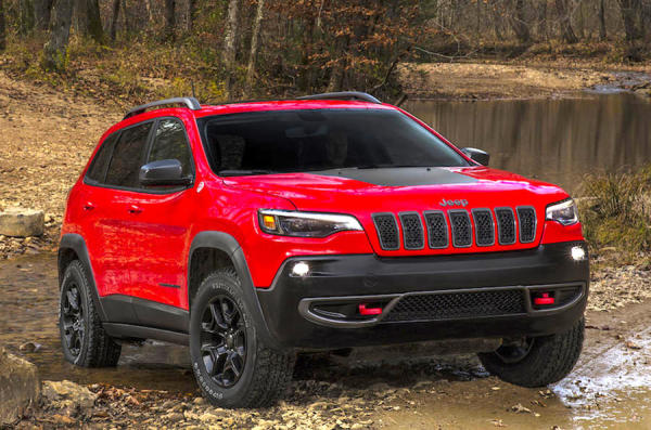The new Jeep Cherokee