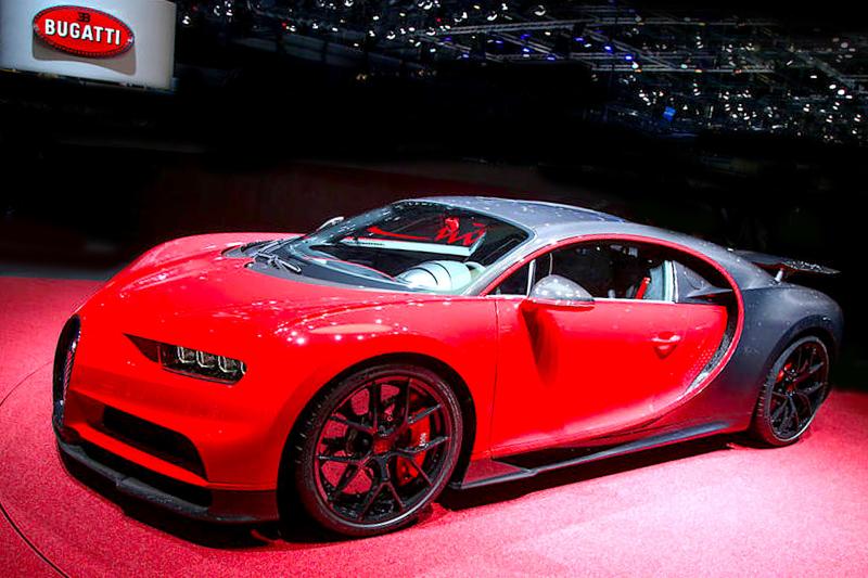 Bugatti Chiron Sprt