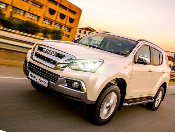 But Isuzu's SUV is now in SA