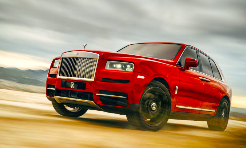 REVEALED - Rolls Royce Cullinan
