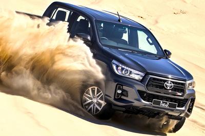 2018 Toyota Hilux Dakar