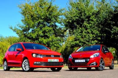 Peugeot 208 1.2T GT Line & VW Polo Vivo GT 1.0 TSI