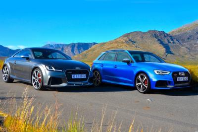 Audi TT RS coupe quattro & RS3 Sportback quattro