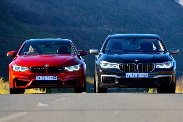 BMW M4 Coupe Competition & M760Li xDrive