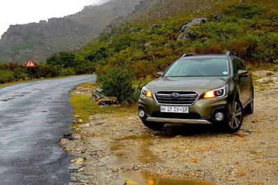 Subaru Outback. Images – Marcella Lupini