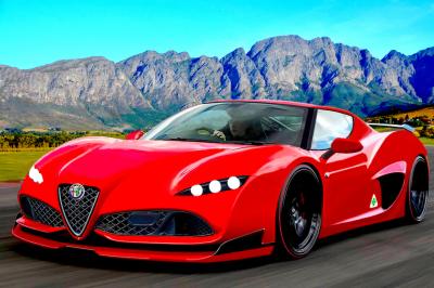 2021 Alfa Romeo 8C