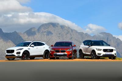 Jaguar E-Pace, BMW X2 & Volvo XC 40