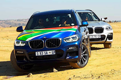 Made in SA BMW X3