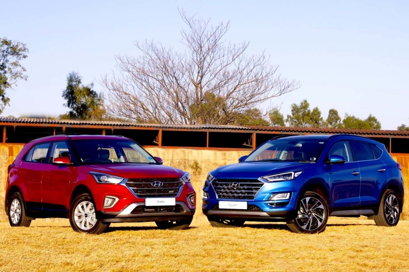 Hyundai Creta & Tucson