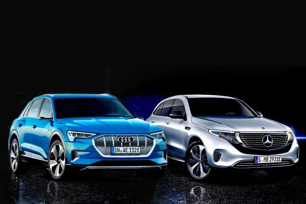 Audi E-tron & Mercedes EQC