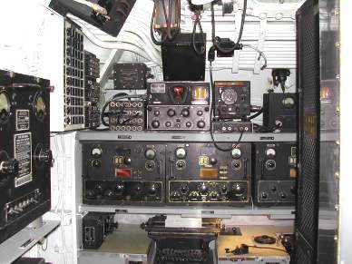Radio Room on USS Bowfin (World War II submarine on display in Pearl Harbor)