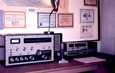 K0MPH 1964 – Minot ND – New SSB Heath Kit Radio