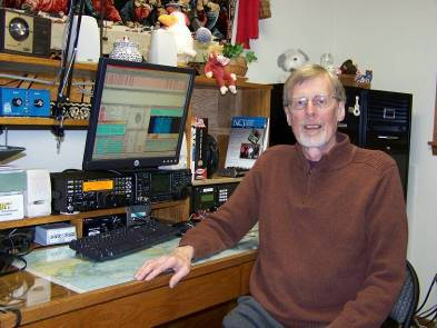 K0MPH 2009 – Roger in Maple Grove MN with new K3