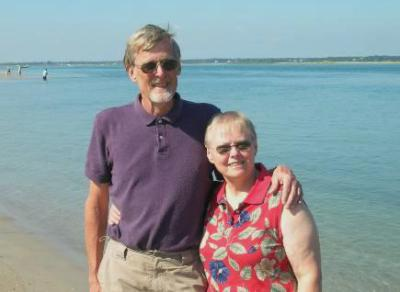 Roger and Dianne in North Carolina - 2009
