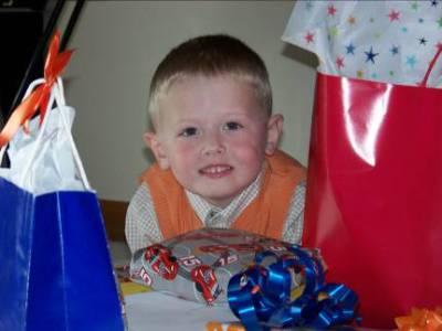 Grandson James' fourth birthday – 2009