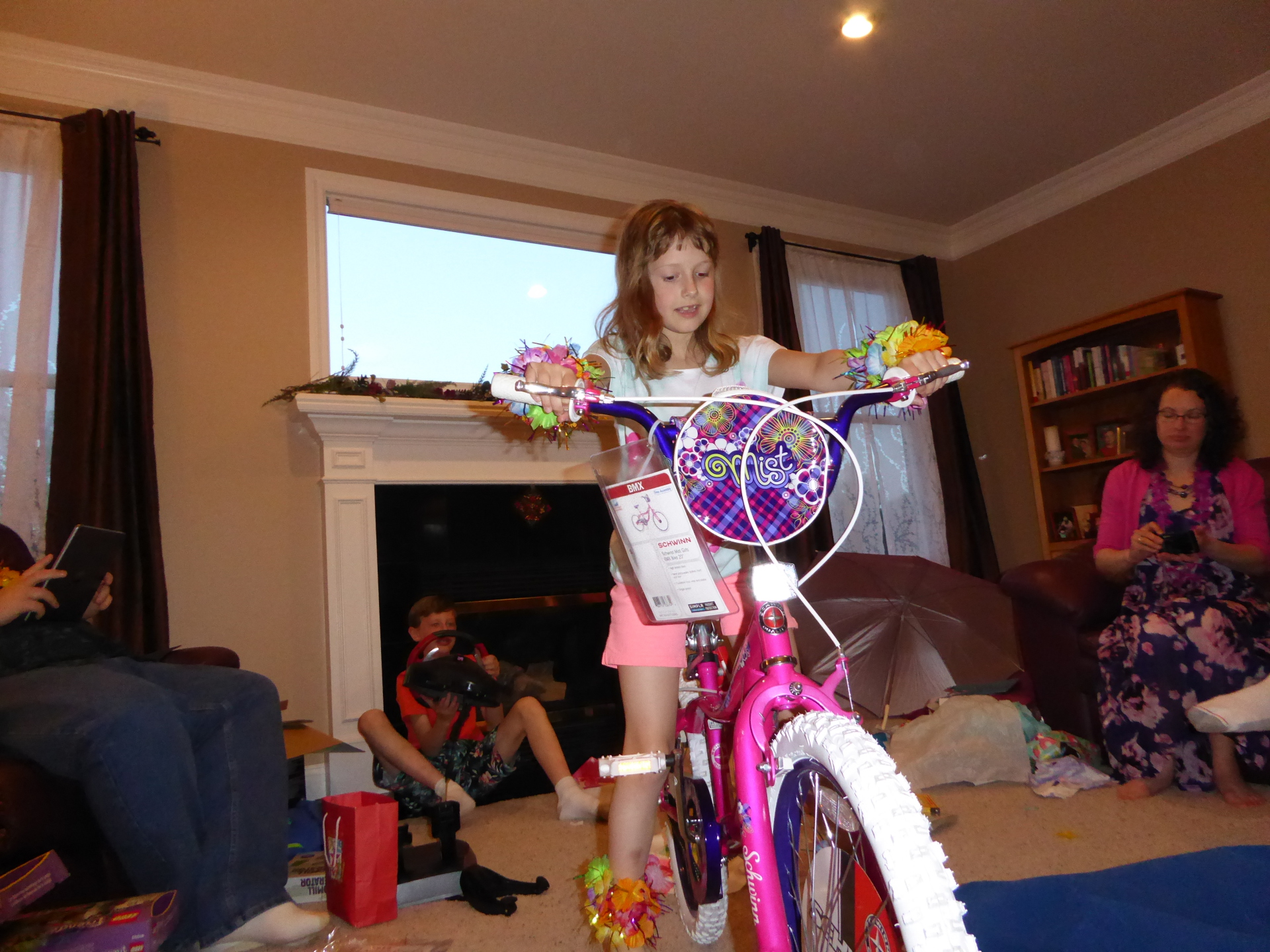 Adria gets a new bike - 2015