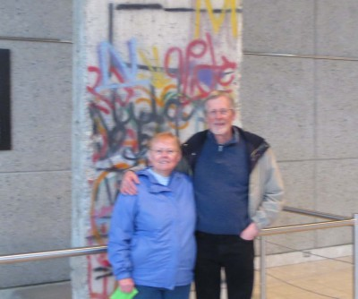 Dianne and Roger at Gerald Ford Library and Musuem - 2014