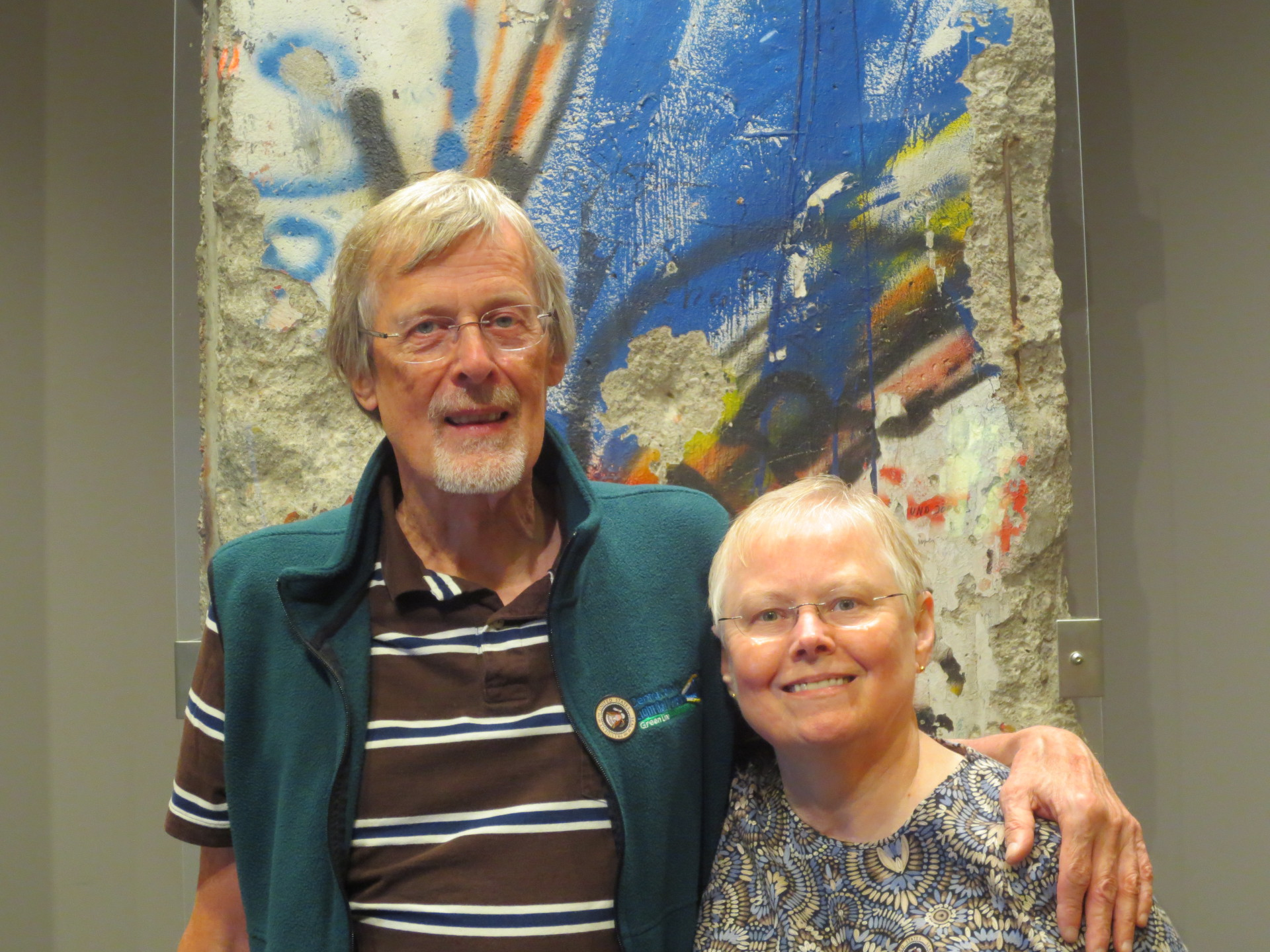 Roger and Dianne at the John Kennedy Library and Museum - 2014