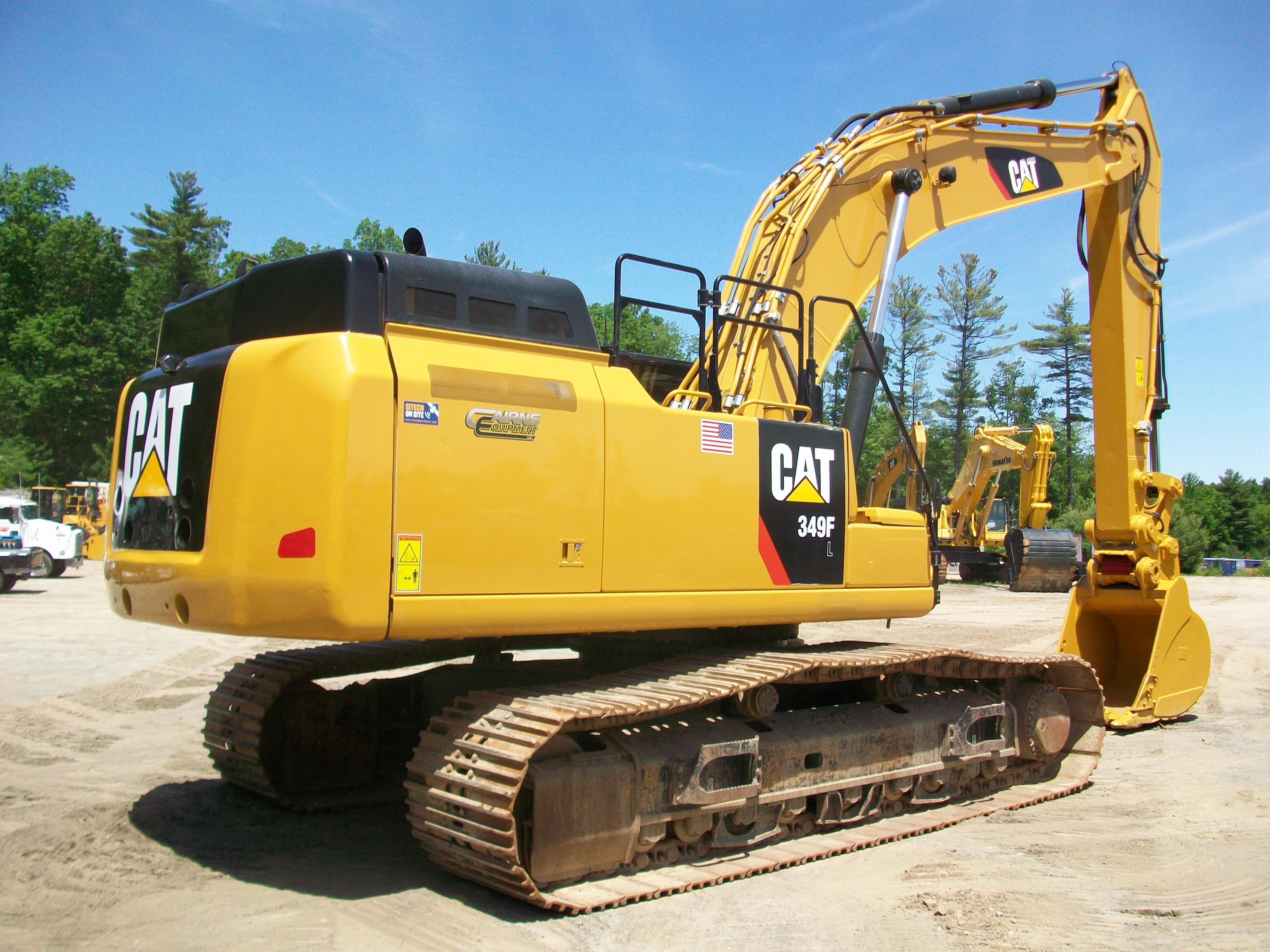 2015 CAT 349FL, $285,000