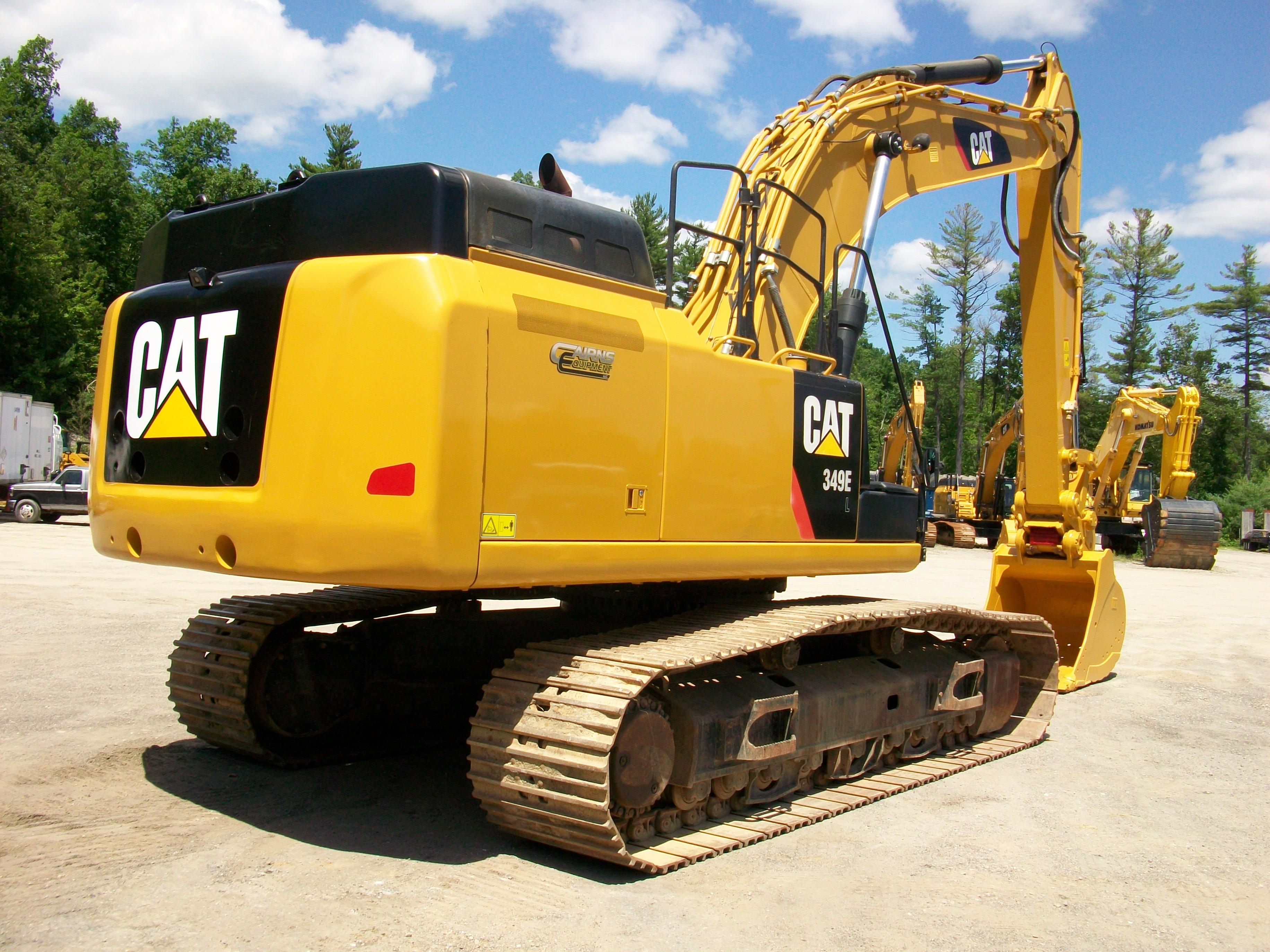 2013 CAT 349EL, $250,000