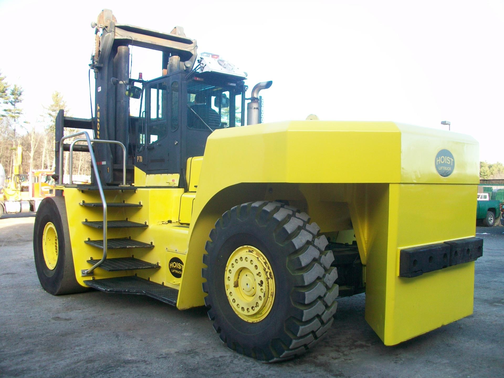 2008 Hoist P700, Forklift, 2,600 hours, $240,000