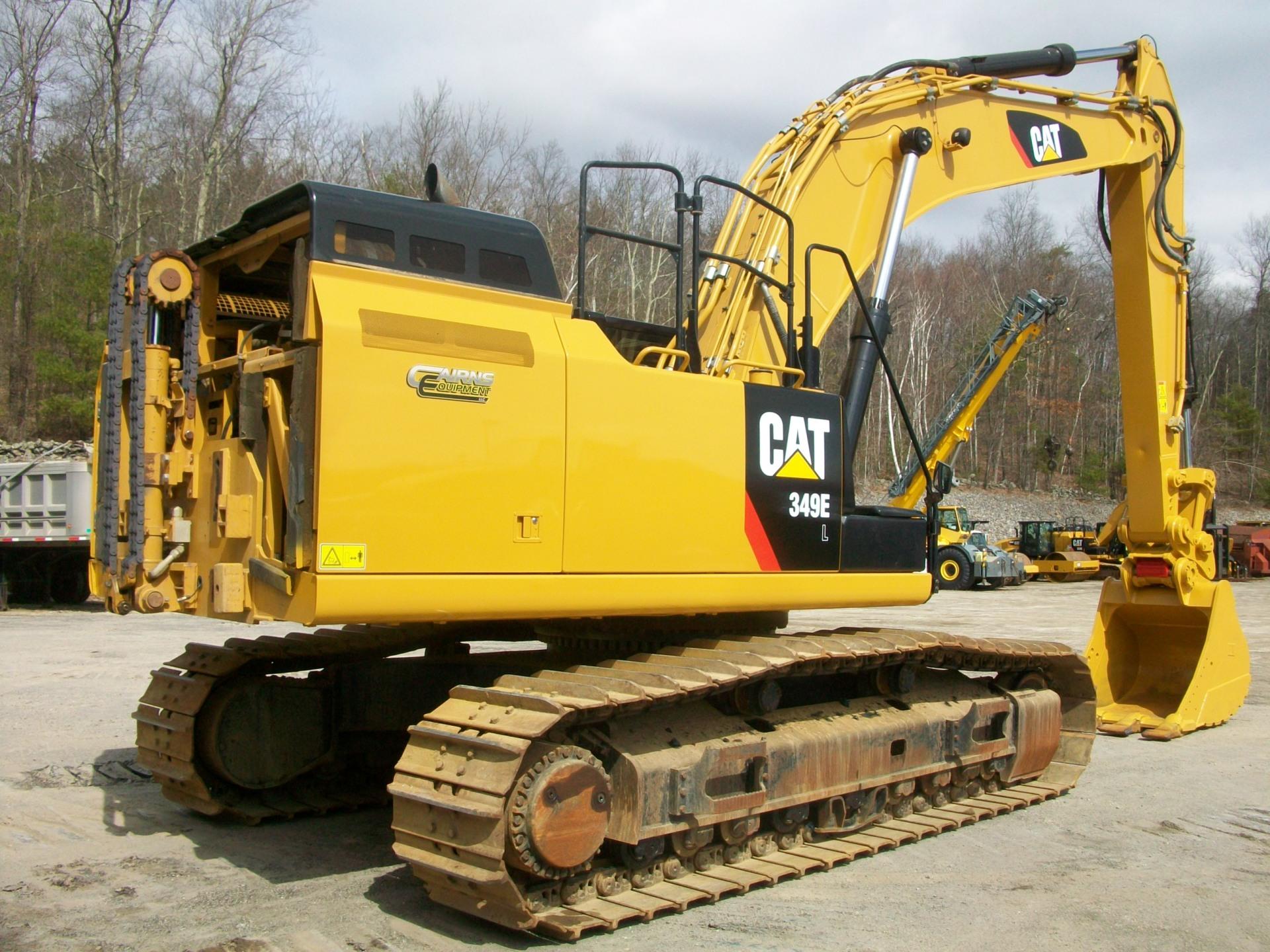 2013 CAT 349EL, $270,000