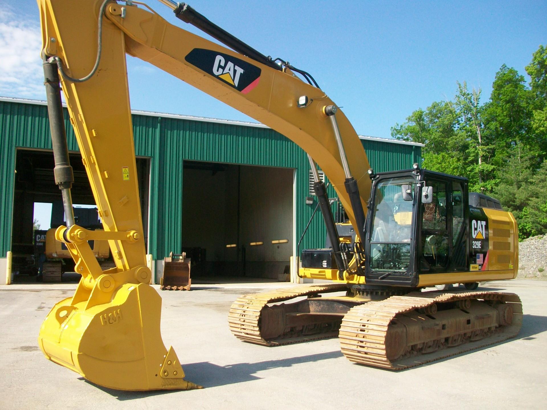 2012 CAT 329EL , $125,000