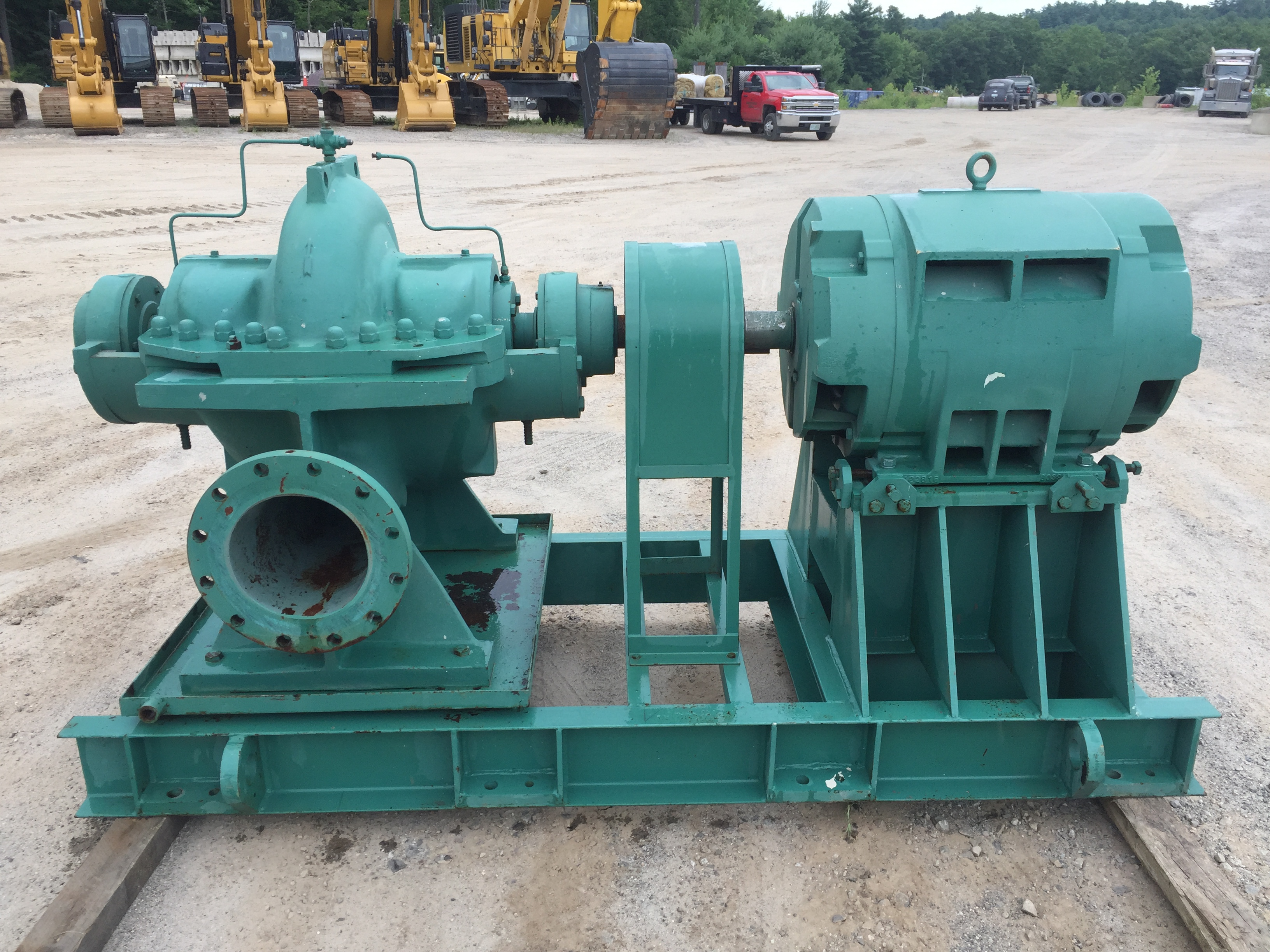 (2) 2017 Taco 3000 GPM 150HP Industrial Pump and Motor $18,500.00