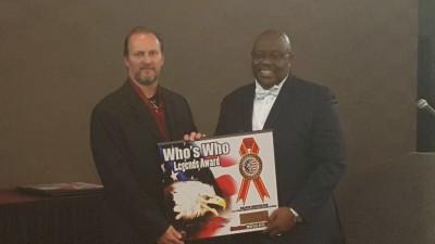 Jeff Dixon Wins Legends Award