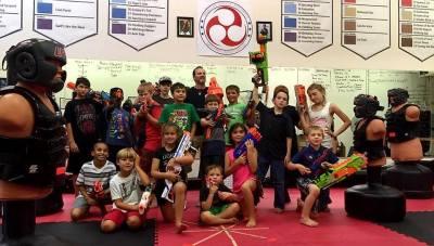 Sidekick Karate of Concord Nerf Wars
