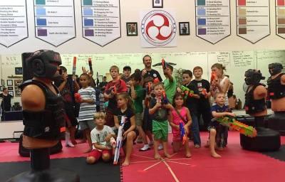 Sidekick Karate of Concord Nerf War